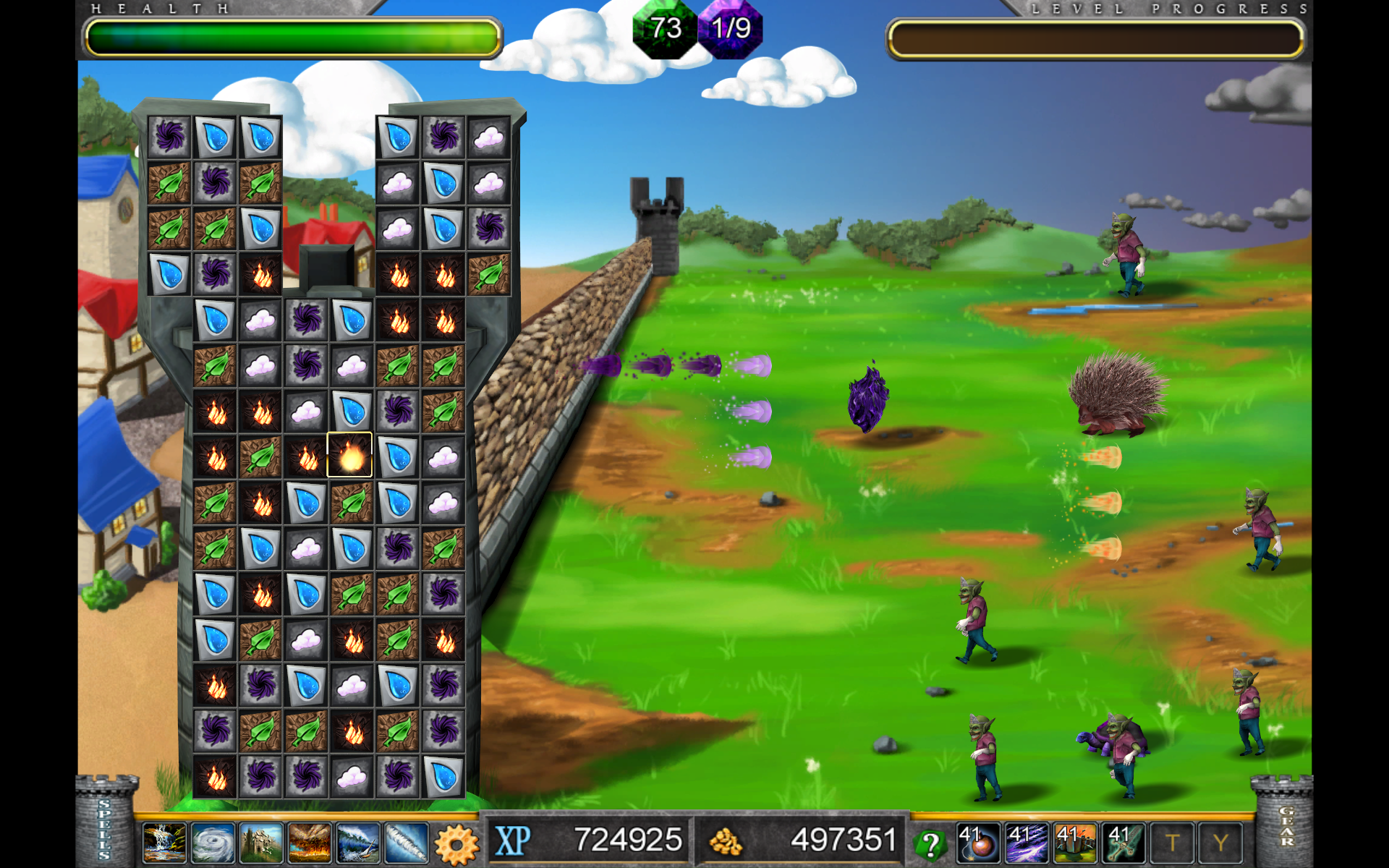 element tower defense