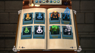 Bestiary Tome: Collect enemies and bosses for further study.