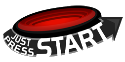 Just Press Start logo