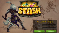 Stash login screen.